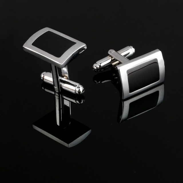 Men's Classic Rectangle Cufflinks