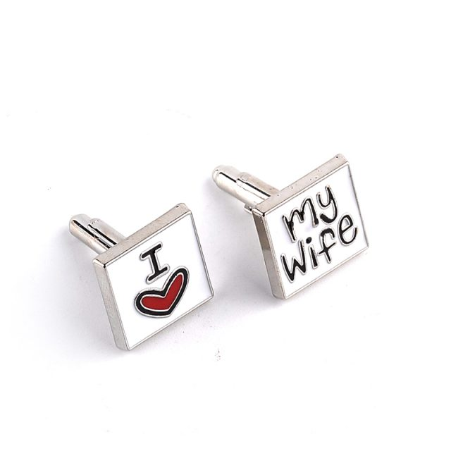 Men's Adorable Metal Cufflinks
