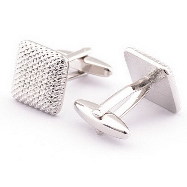 Men's Classic Square Braided Cufflinks