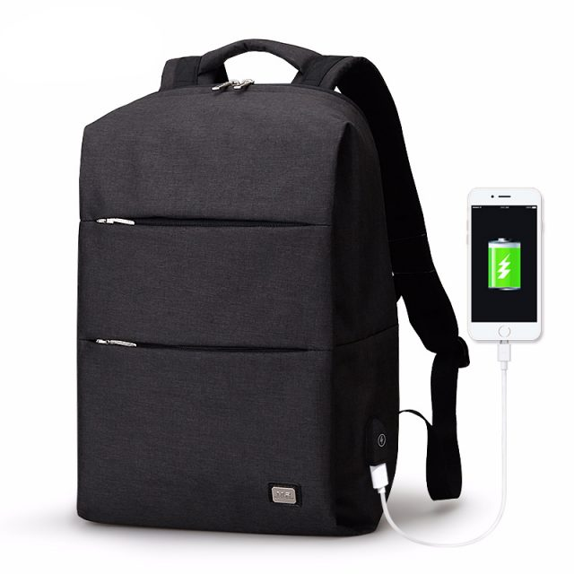 Men's Backpack For 15.6 inches Laptop with USB Charger