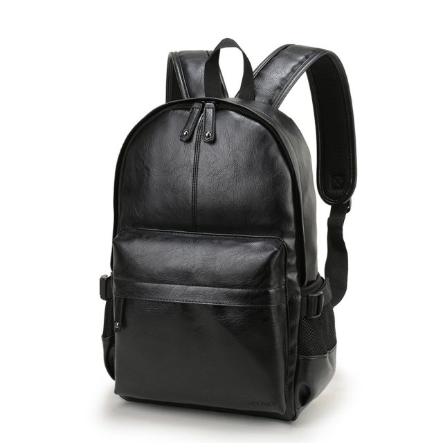 Men's Elegant Leather Backpack