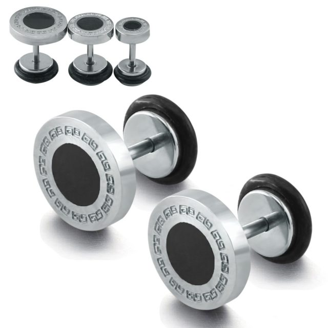 Men's Stainless Steel Earrings