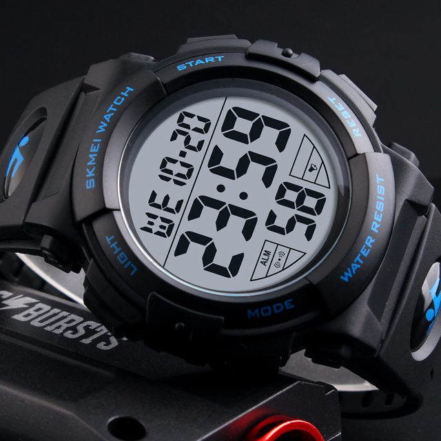Men's Fashion Electronic Chrono Watches