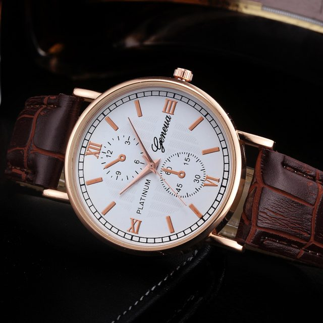 Business Retro Quartz Watches for Men