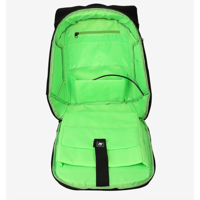 Unisex Cyberpunk Style Backpack
