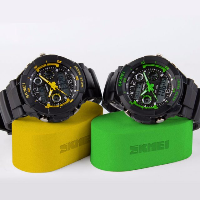 Amazing Sports Dual Display Watches for Men