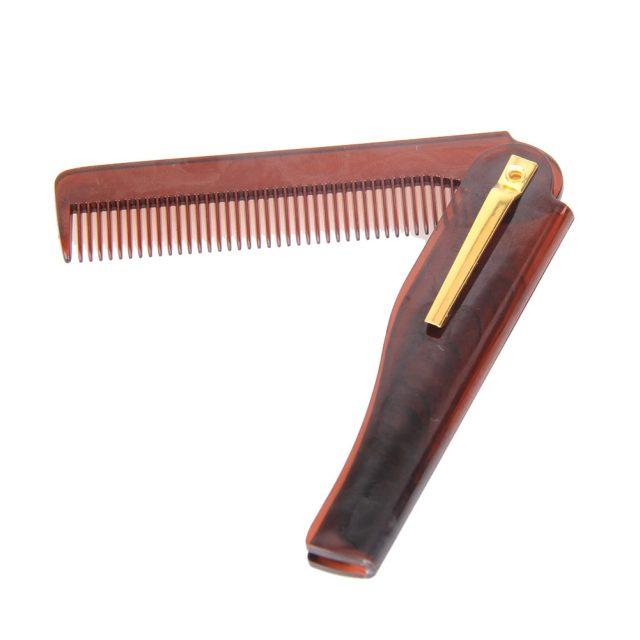 Foldable Hair Plastic Comb
