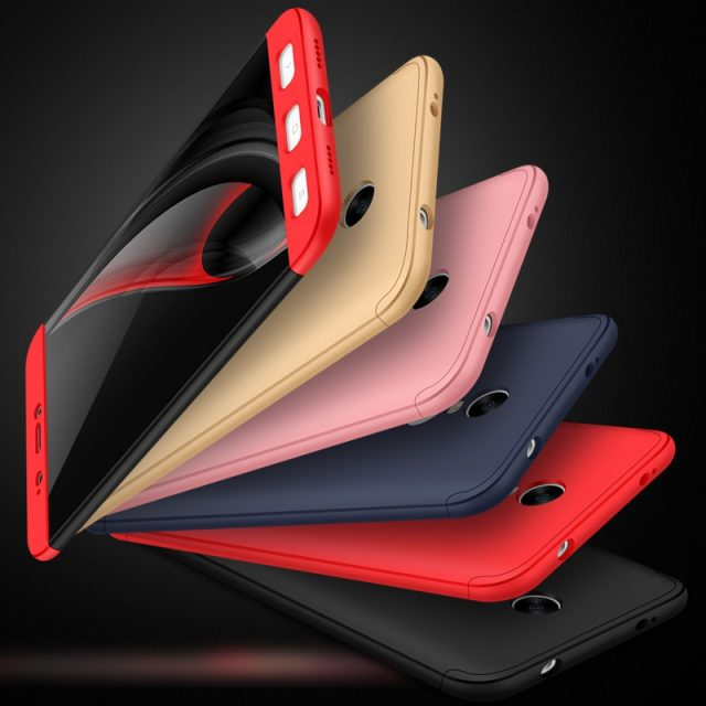Men's Stylish Two-colored Plastic Phone Case for Xiaomi