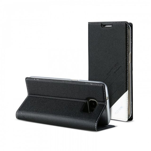 Men's Stylish Leather Phone Cover for Samsung