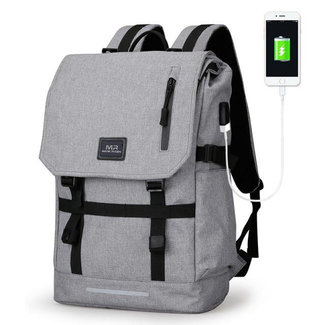 Large Capacity USB Travel Backpack