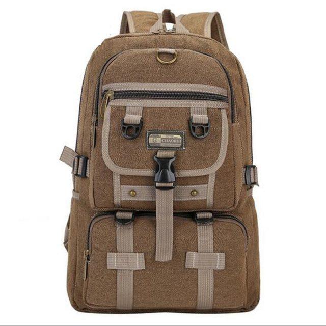 Large Canvas Backpack for Men