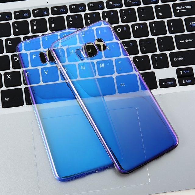 Luxury Glossy Protective Plastic Phone Case