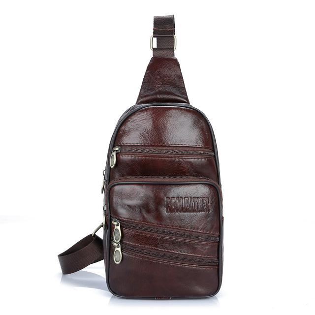 Men's Stylish Genuine Leather Backpack