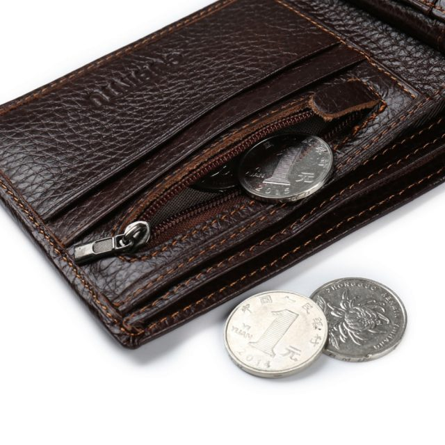 Genuine Leather Men's Wallets
