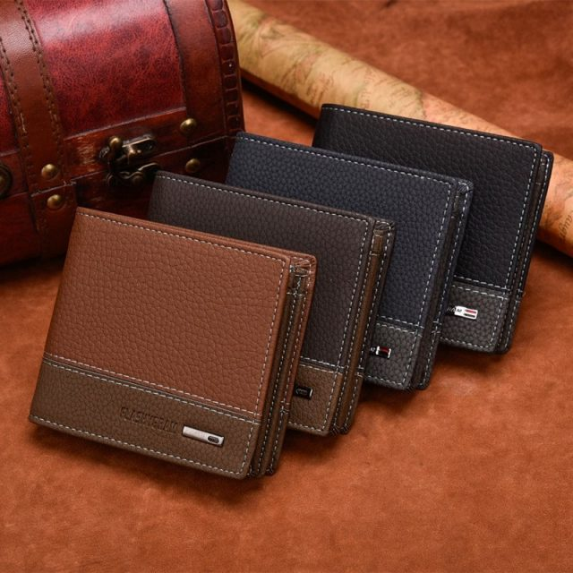 Compact Leather Wallets for Men