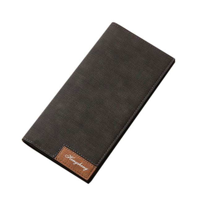 Men's Retro Style Slim Wallet