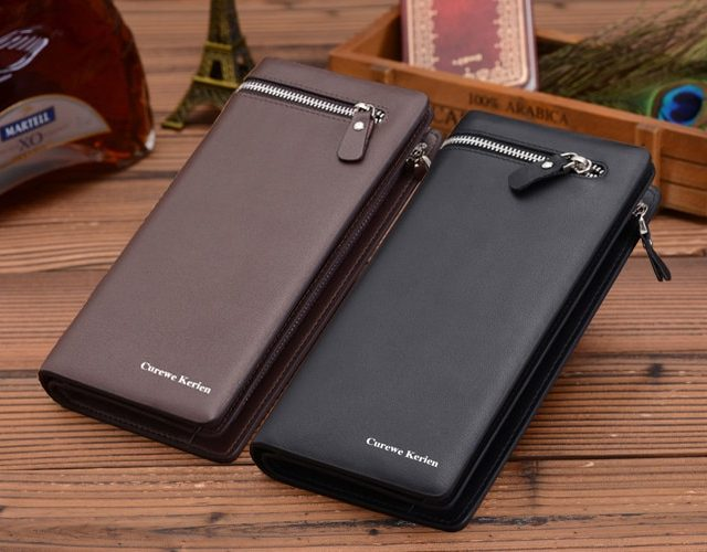 Elegant Business Leather Wallet