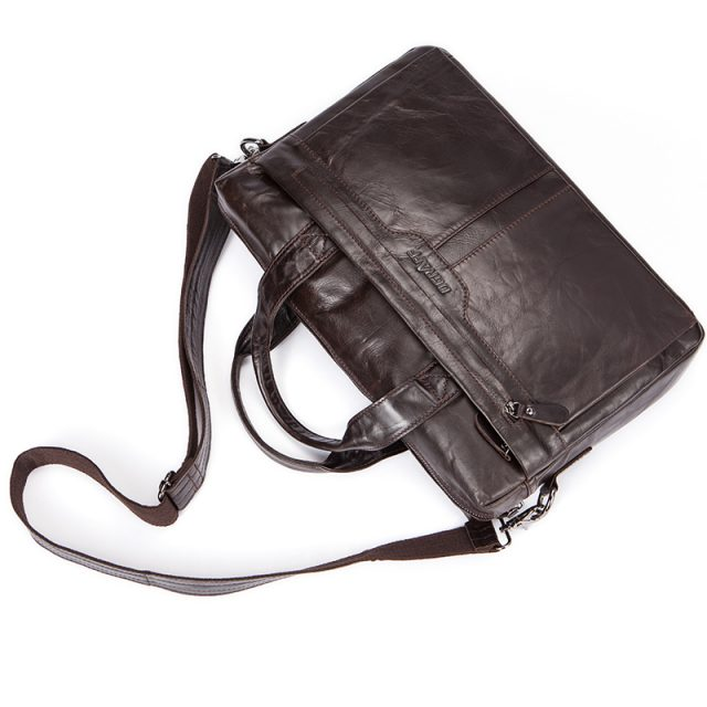 Leather Men's Shoulder Bag