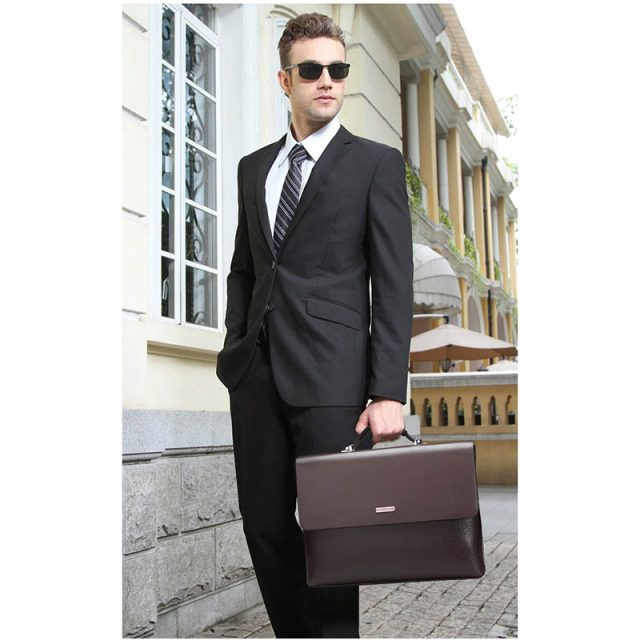 Men's Classic Office Style Briefcase