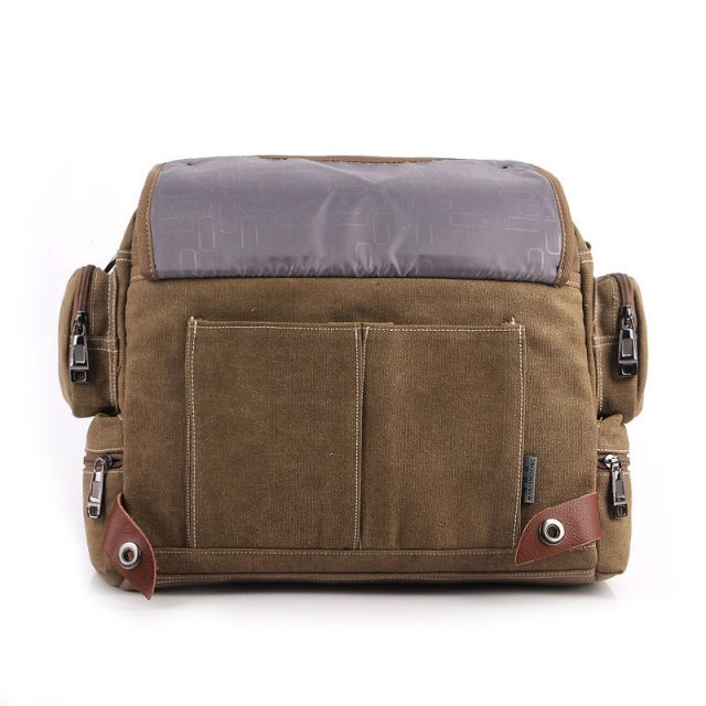 Men's Retro Canvas Briefcase