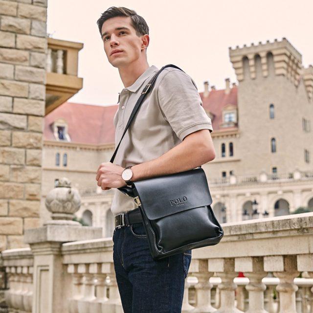 Vintage Men's Crossbody Bag