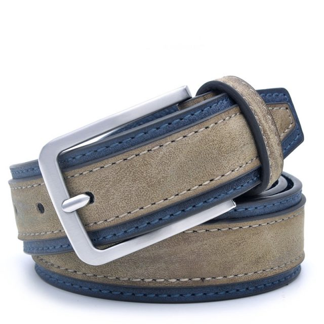 Men's Casual PU Leather Belt