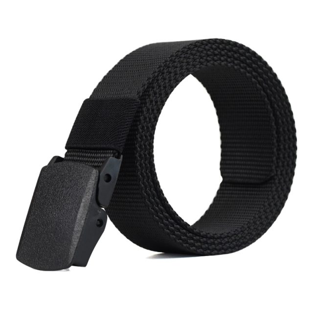 Men's Box Buckle Nylon Belt