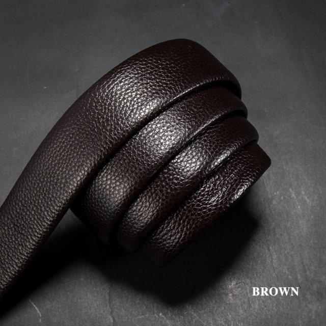 Elegant Genuine Cowhide Men's Belt