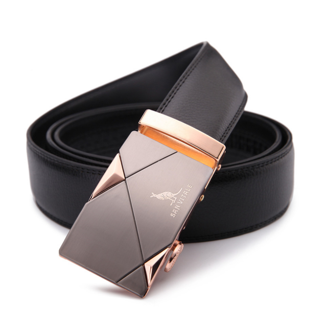 Men's Belt 100% Genuine Leather