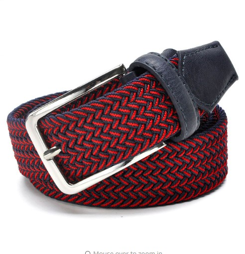 Casual Cotton  Woven Men's Belt