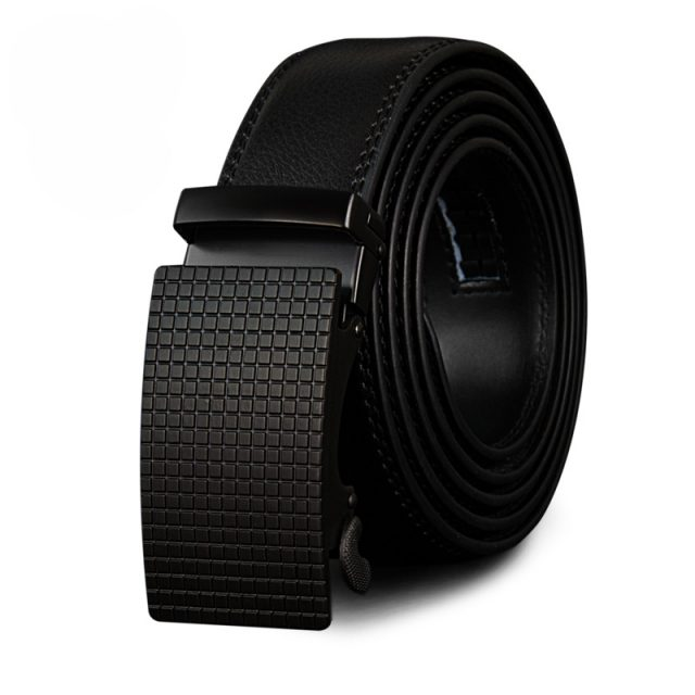 Wear-Resistant Genuine Leather Men's Belt