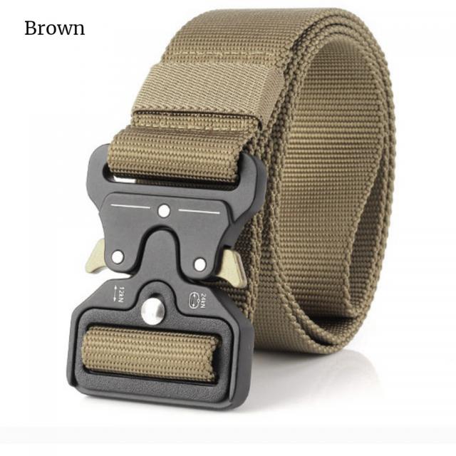 Men's Nylon Military Style Belt